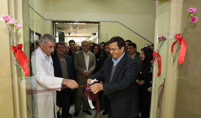 کلینیکهای فوق تخصصی بیمارستان این بانک افتتاح شد