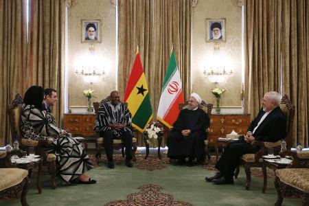 ایران و غنا ٢سند و یادداشت تفاهم همکاری امضا کردند
