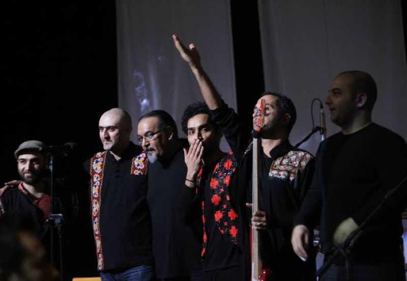 در اولین اجرای گروههای تلفیقی داماهی پرشور ظاهر شد