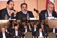 برگزاری گردهمائی روسای شعب استان های خراسان رضوی و شمالی بانک ایران زمین