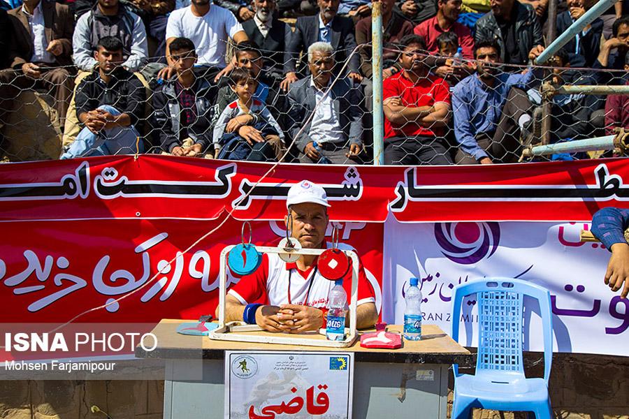 برگزاری مسابقات کشوری کشتی با چوخه شهرستان گرماب