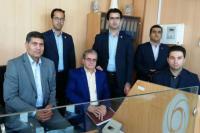 بازدید مدیر امور استان های بانک ایران زمین از شعب استان سیستان و بلوچستان