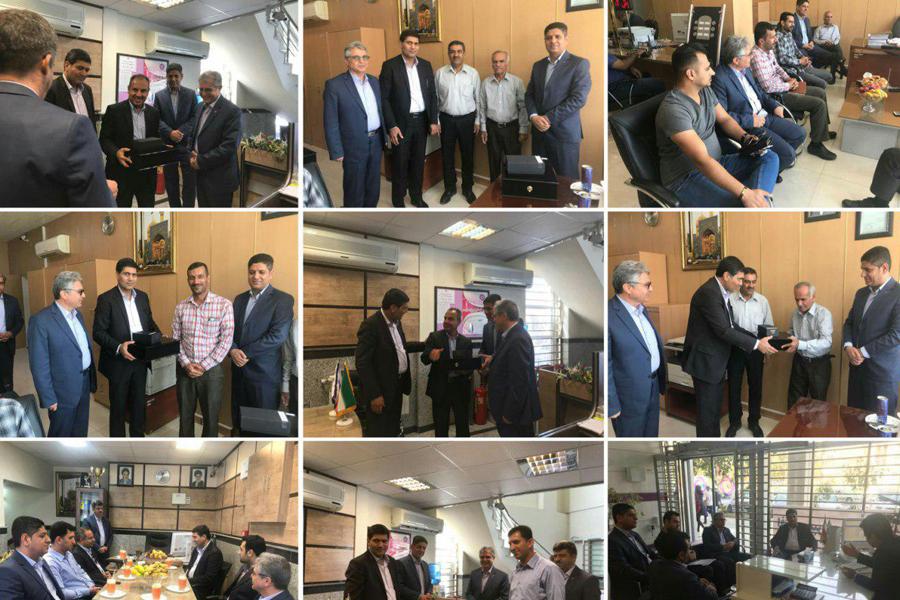 تجلیل از مشتریان بانک ایران زمین، در استانهای فارس، بوشهر، کهکیلویه و بویر احمد