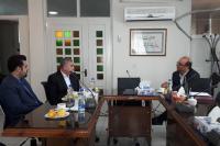 دیدار مدیر استانی بانک ایران زمین با رئیس نظام پزشکی استان همدان