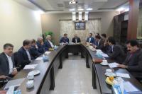 جلسه هم اندیشی روسای شعب استان یزد