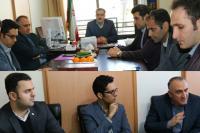 نشست مشترک مدیران استانی بانک ایران زمین و شرکت های تجارت الکترونیک پارسیان و فن آوا