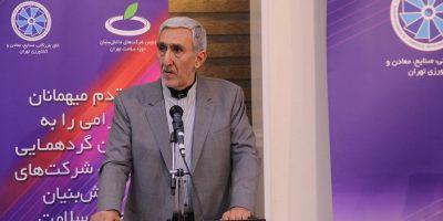 حسین وطن پور؛ وضعیت اکوسیستم شرکتهای دانشبنیان سلامت خوب است